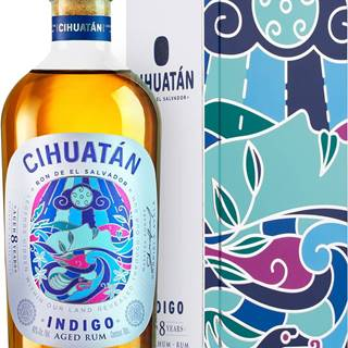 Cihuatan Indigo 8 ročný 40% 0,7l