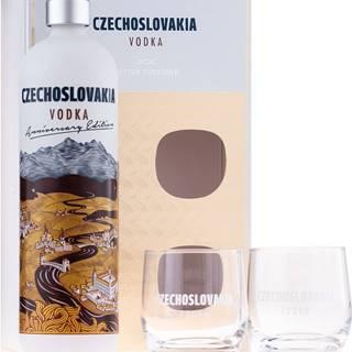 Czechoslovakia Vodka s 2 pohármi 40% 0,7l
