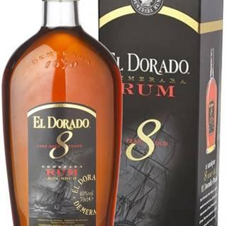El Dorado 8 ročný v kartóniku 40% 0,7l