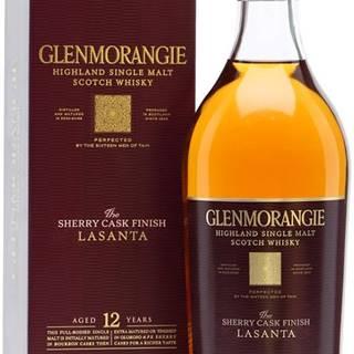Glenmorangie Lasanta 12 ročná 43% 0,7l