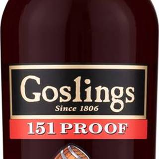 Goslings Black Seal 151 Overproof 75,5% 0,7l