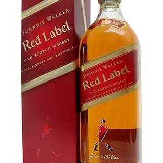Johnnie Walker Red Label 1l v kartóniku 40%