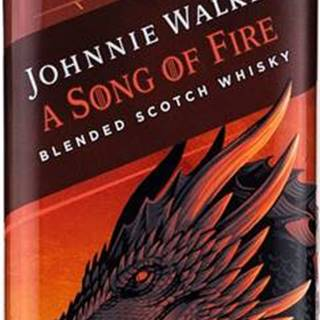 Johnnie Walker Song of Fire Game of Thrones 40,8% 0,7l