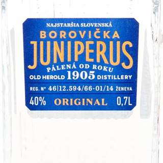 Juniperus Borovička 40% 0,7l