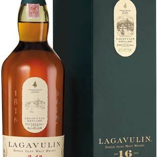 Lagavulin 16 ročná 43% 0,7l