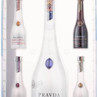 Pravda Vodka Gift Set 39,44% 0,9l