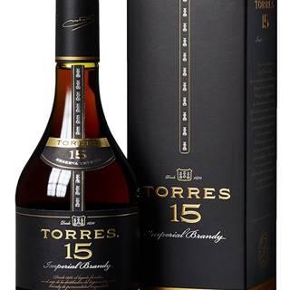 Torres 15 Reserva Privada Imperial Brandy 40% 0,7l