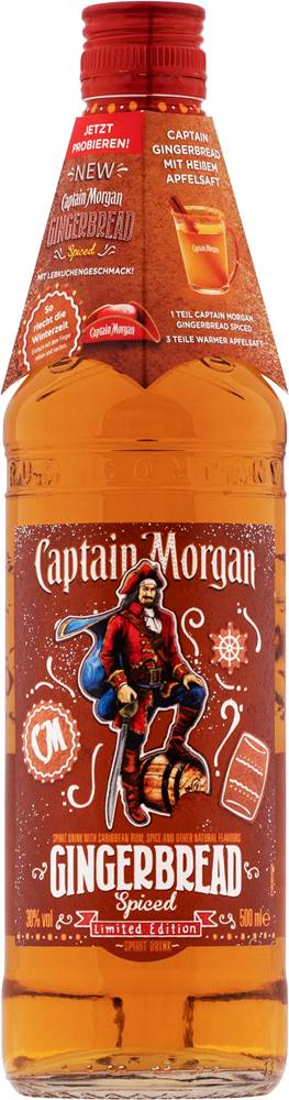 Captain Morgan Captain Morgan Gingerbread 30% 0,5l