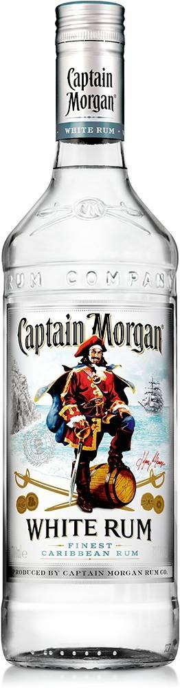 Captain Morgan Captain Morgan White 37,5% 0,7l
