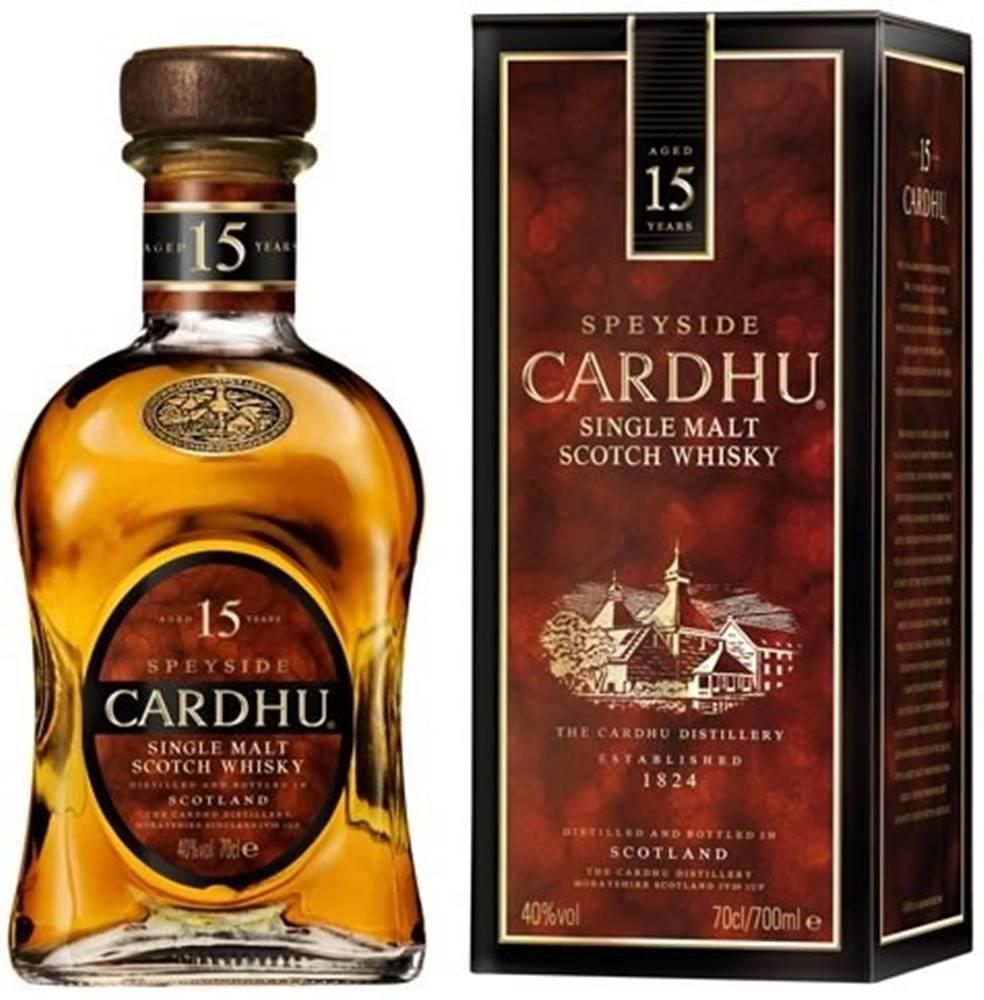 Cardhu Cardhu 15 ročná 40% 0,7l