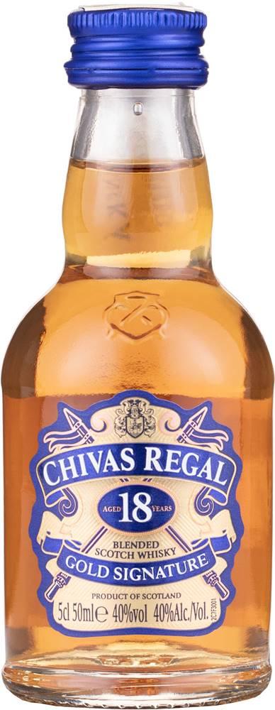 Chivas Chivas Regal 18 ročná Mini 40% 0,05l