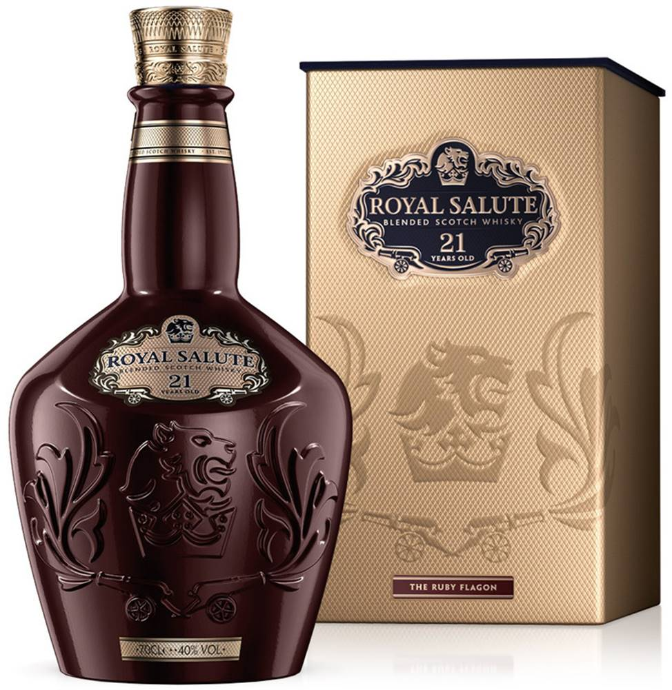 Chivas Chivas Royal Salute 21 Ročná The Ruby Flagon 40% 0,7l