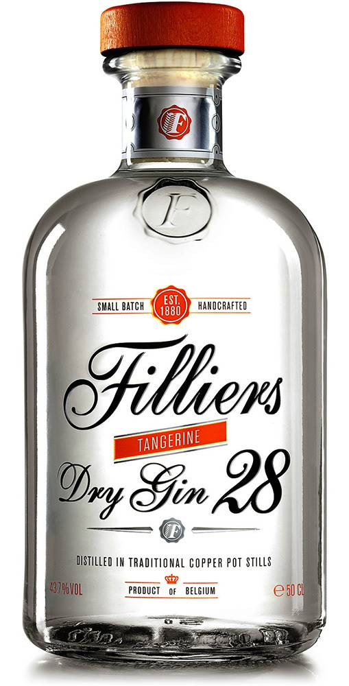 Filliers Filliers Dry Gin 28 Tangerine 43,7% 0,5l