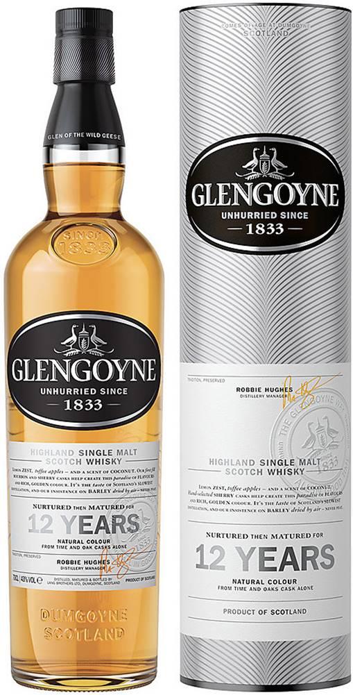 Glengoyne Glengoyne 12 ročná 43% 0,7l