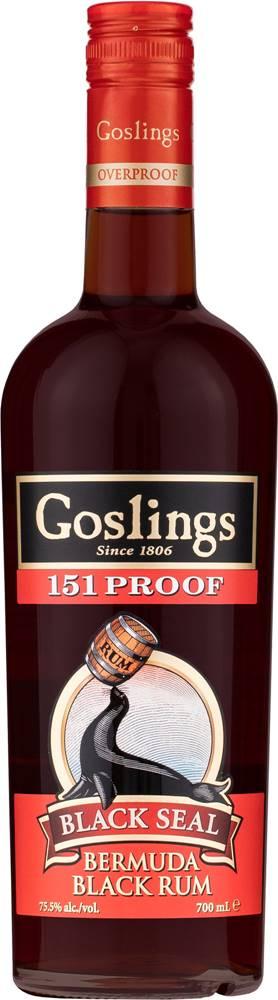 Goslings Goslings Black Seal 151 Overproof 75,5% 0,7l