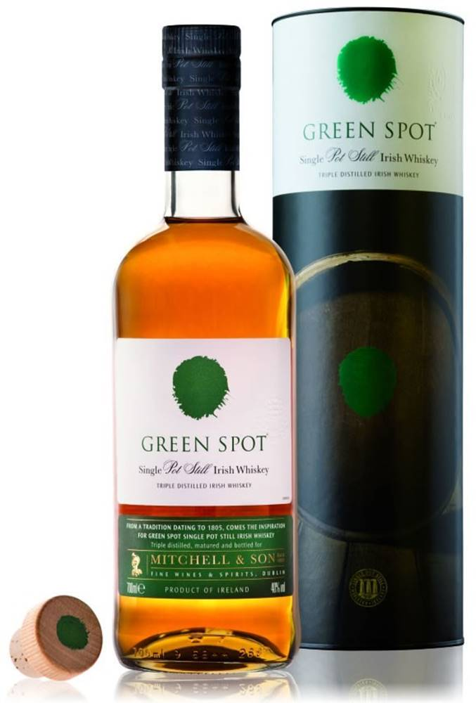 Mitchell and Son Green Spot 40% 0,7l