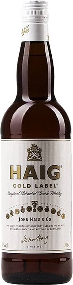 Haig Haig Gold Label 40% 0,7l