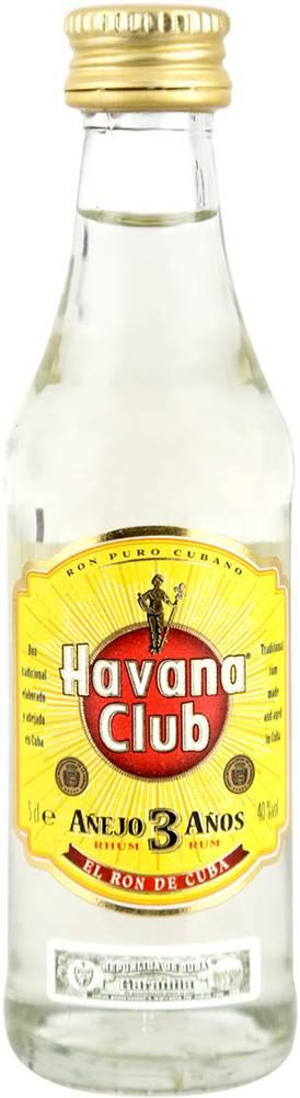 Havana Club Havana Club Anejo 3 ročný Mini 40% 0,05l