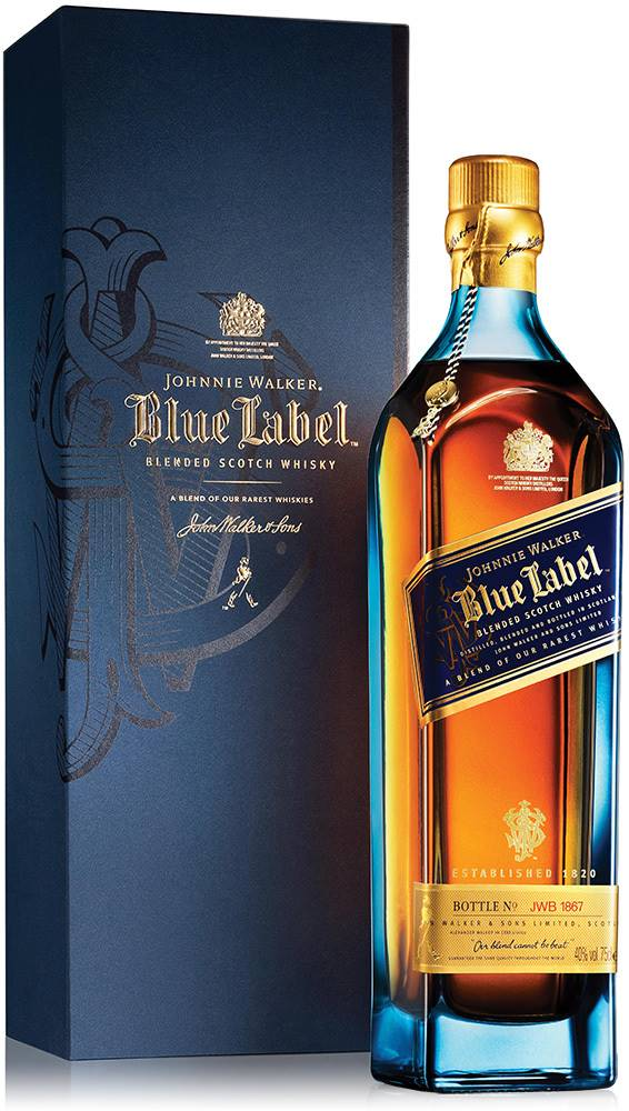 Johnnie Walker Johnnie Walker Blue Label 40% 0,7l