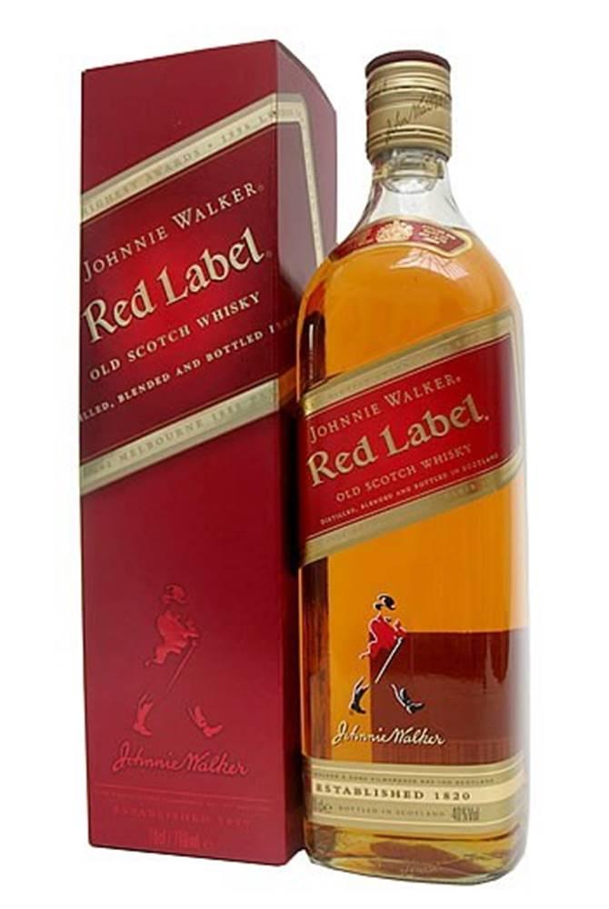 Johnnie Walker Johnnie Walker Red Label 1l v kartóniku 40%