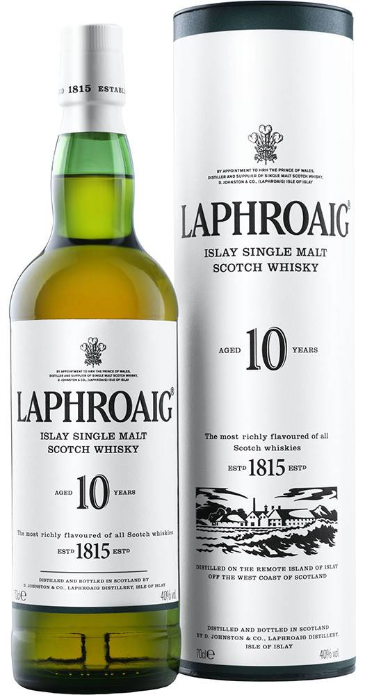 Laphroaig Laphroaig 10 ročná 40% 0,7l