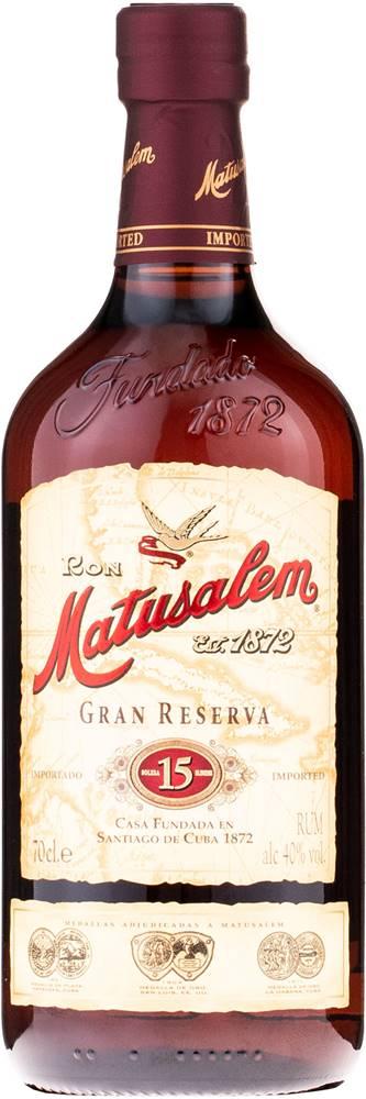 Matusalem Matusalem Gran Reserva 15 40% 0,7l
