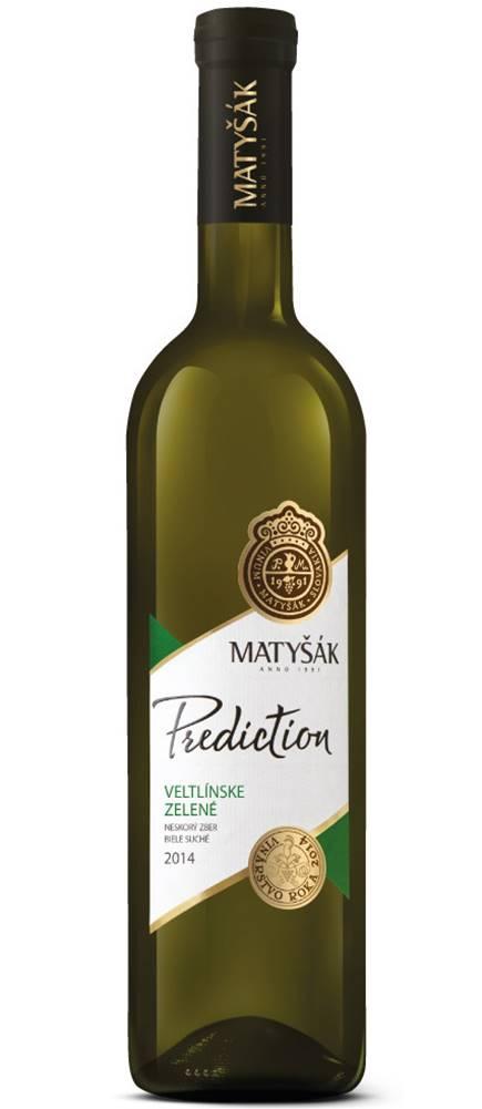 Matyšák Matyšák Prediction Veltlínske zelené 12,5% 0,75l