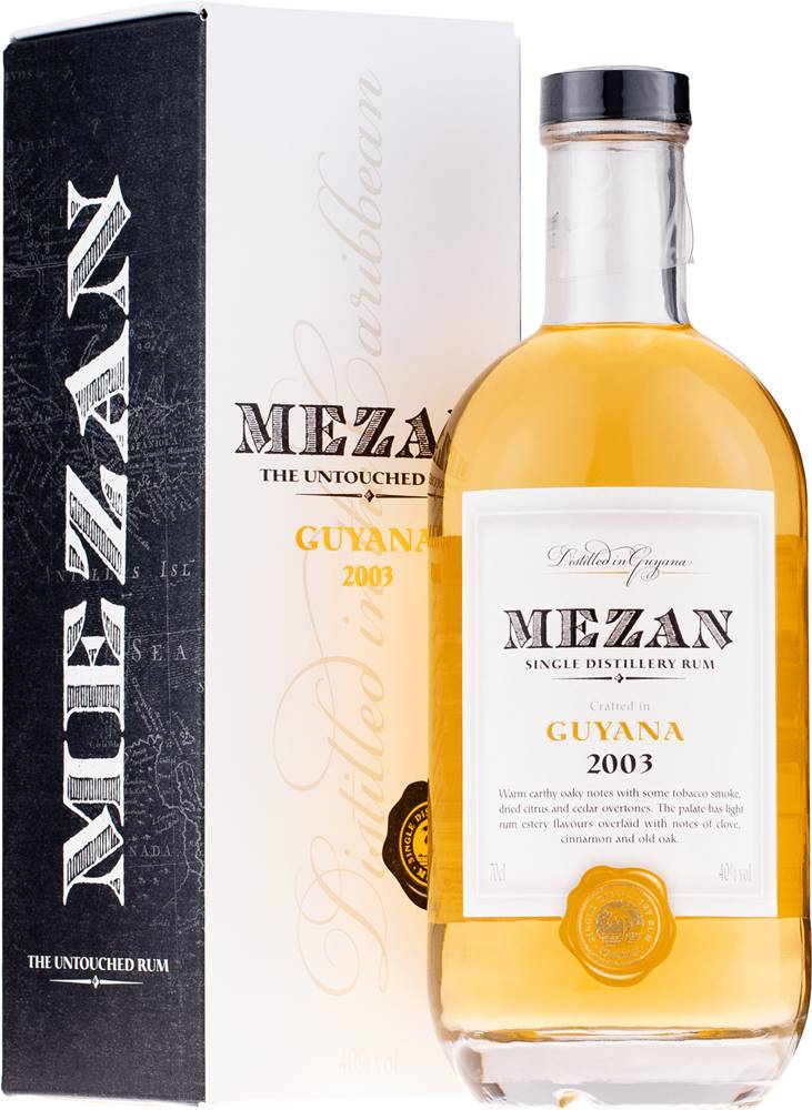 Mezan Mezan Guyana Diamond 2003 40% 0,7l