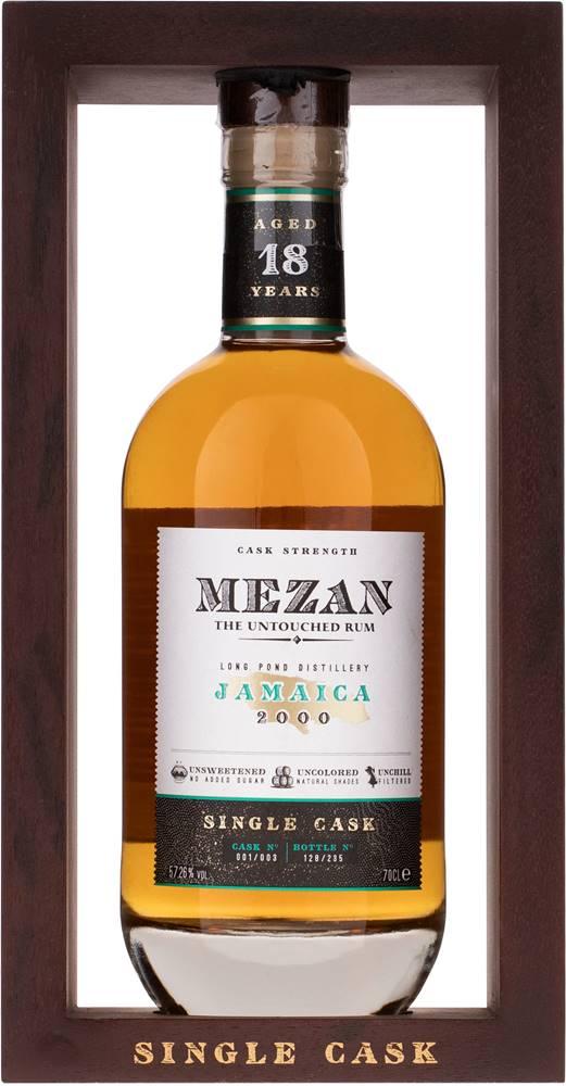 Mezan Mezan Jamaica 2000 Cask No. 001 57,26% 0,7l