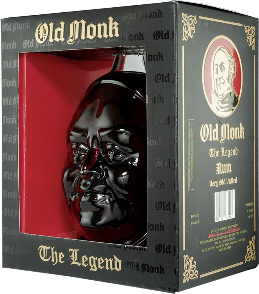 Old Monk Old Monk The Legend 42,8% 1l