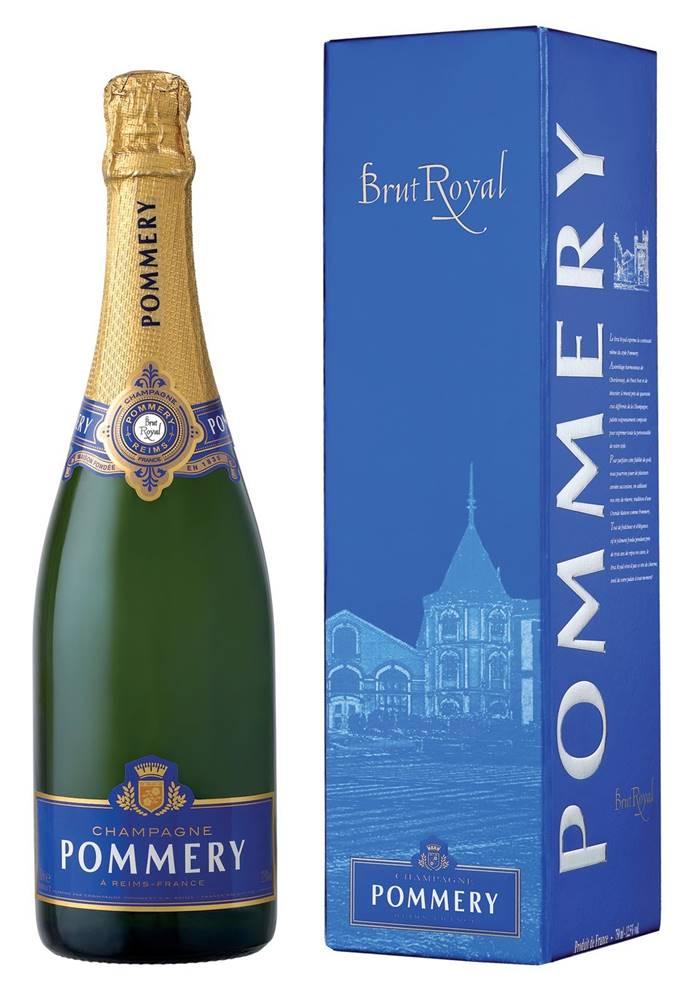 Pommery Pommery Brut Royal v kartóniku 12,5% 0,75l