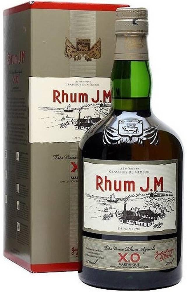 Rhum J.M Rhum J.M Tres Vieux Agricole XO 45% 0,7l