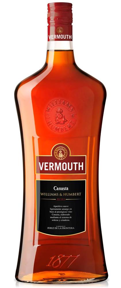 Williams & Humbert Vermouth Canasta Rosso 15% 1l