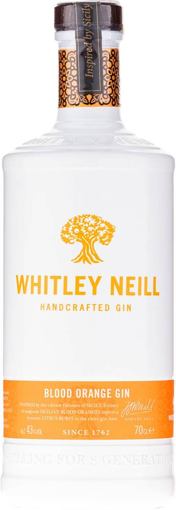 Whitley Neill Whitley Neill Blood Orange Gin 43% 0,7l