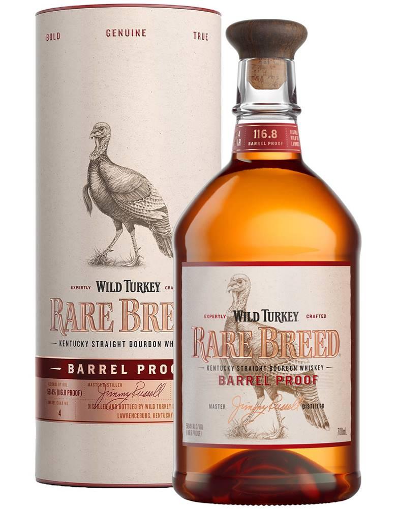 Wild Turkey Wild Turkey Rare Breed Barrel Proof 58,4% 0,7l
