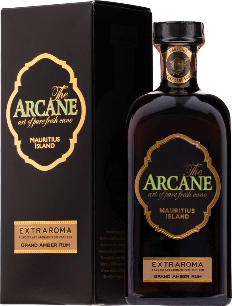 Arcane Arcane Extraroma Grand Amber Rum 12 ročný 40% 0,7l