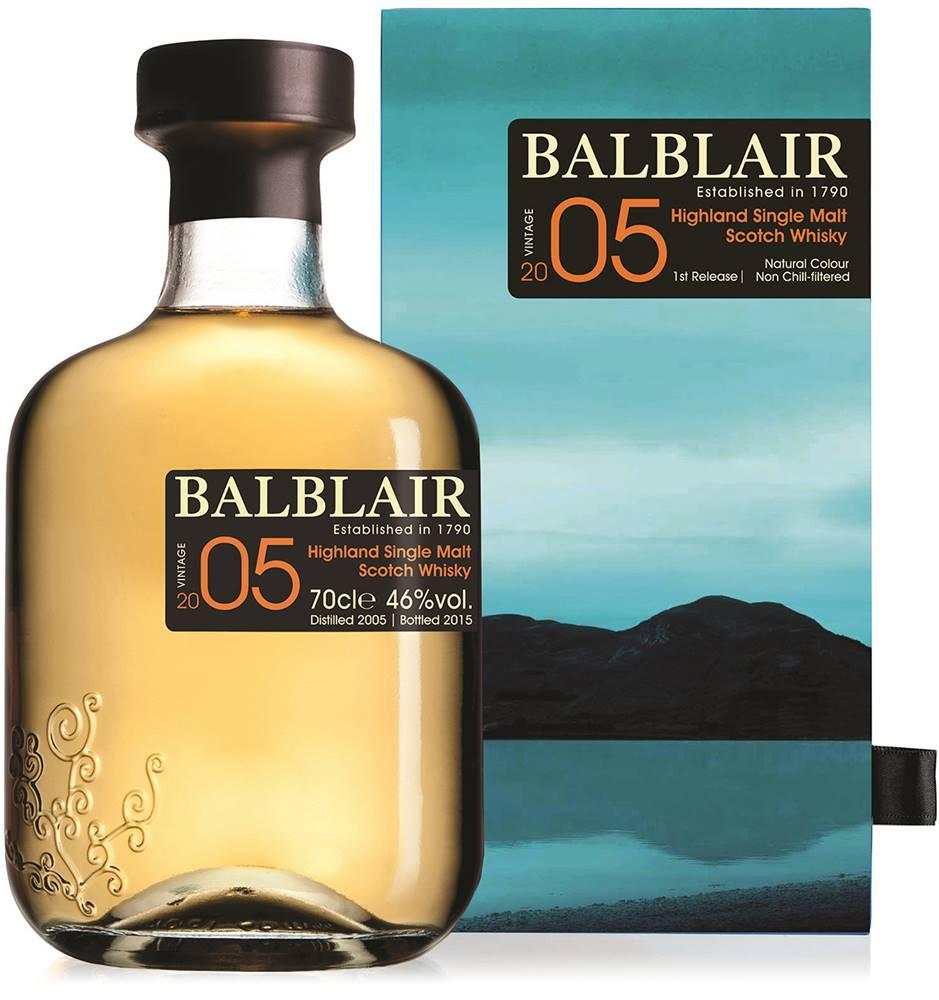 Balblair Balblair Vintage 2005 - 1st Release 46% 0,7l