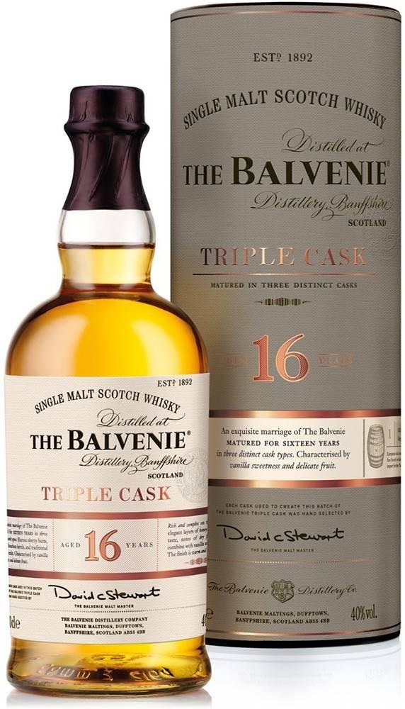 Balvenie Balvenie Triple Cask 16 ročná 40% 0,7l