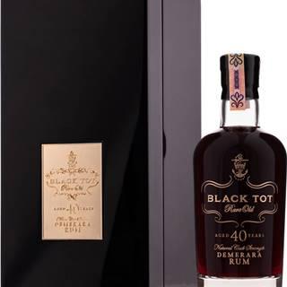 Black Tot 40 ročný 44,2% 0,7l