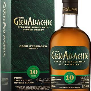The GlenAllachie 10 ročná Cask Strength 58,2% 0,7l