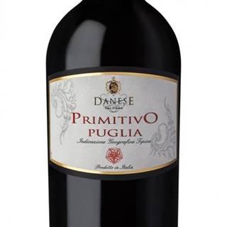 Primitivo Puglia IGT Danese 14% 0,75l