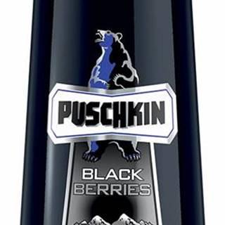 Puschkin Black Berries 16,6% 0,7l