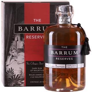 The Barrum Classic Dark Rum 40% 0,7l