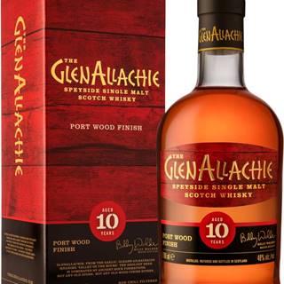 The GlenAllachie 10 ročná Port Wood Finish 48% 0,7l