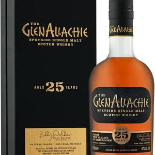The GlenAllachie 25 ročná 48% 0,7l