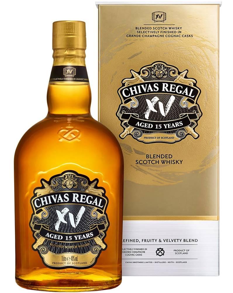 Chivas Chivas Regal XV 15 ročná 1l 40%
