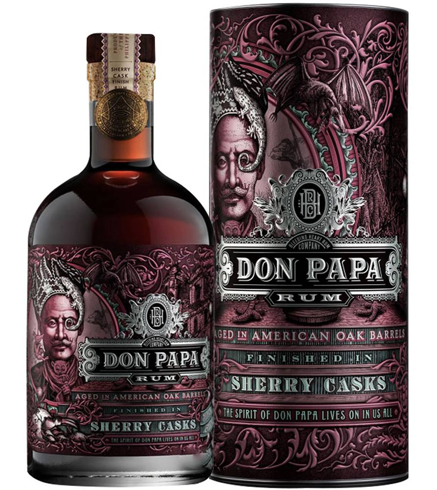 Don Papa Don Papa Sherry Casks 45% 0,7l