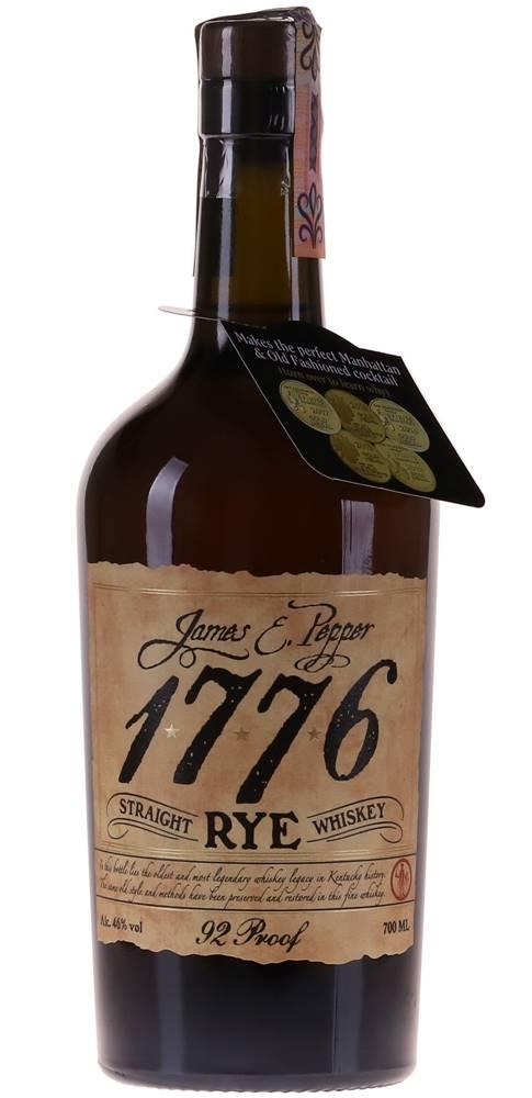 James E. Pepper James E. Pepper 1776 Straight Rye 46% 0,7l