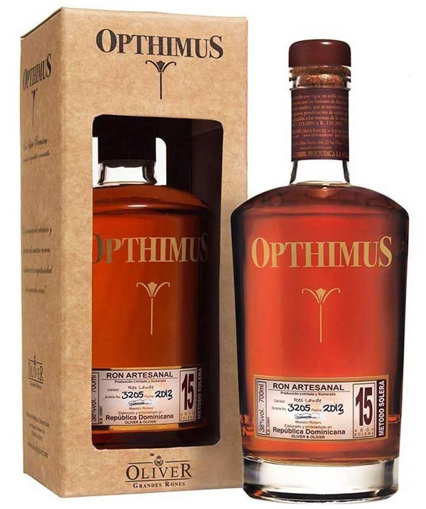 Opthimus Opthimus 15 ročný Res Laude 38% 0,7l