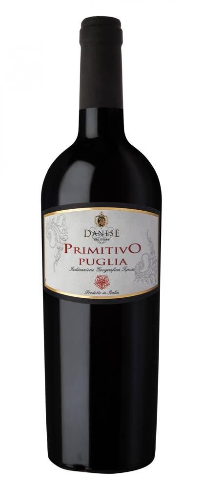 Danese Primitivo Puglia IGT Danese 14% 0,75l